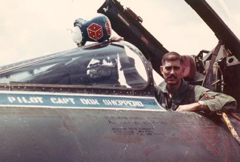 Don Sheppard U.S. Air Force pilot