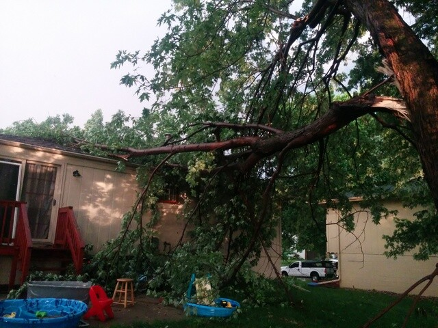 PHOTO GALLERY: Severe storms rips through the Omaha metro area