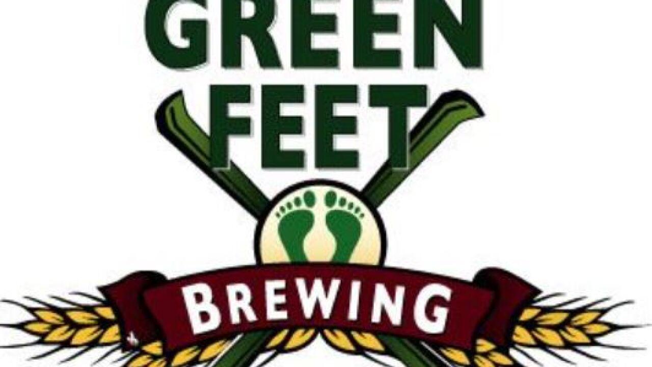 Green Feet Brewing has permanently closed. Photo via Green Feet Brewing.