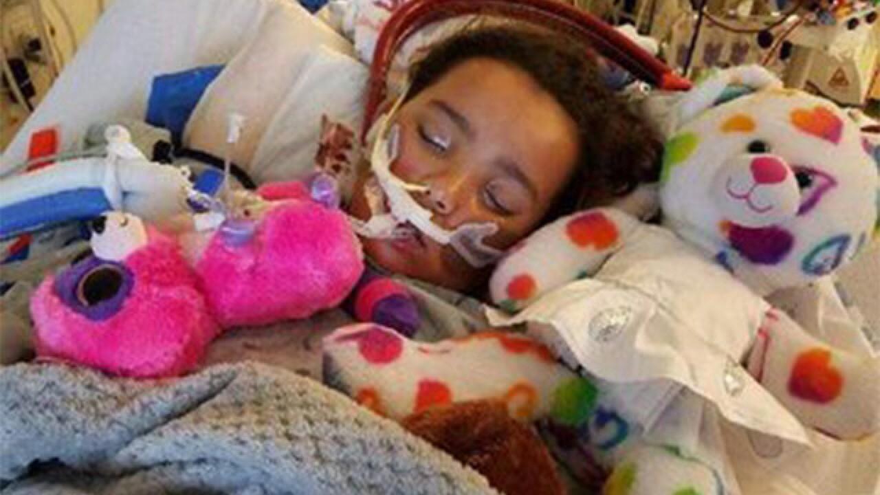 Aurora girl fighting against deadly H1N1 virus