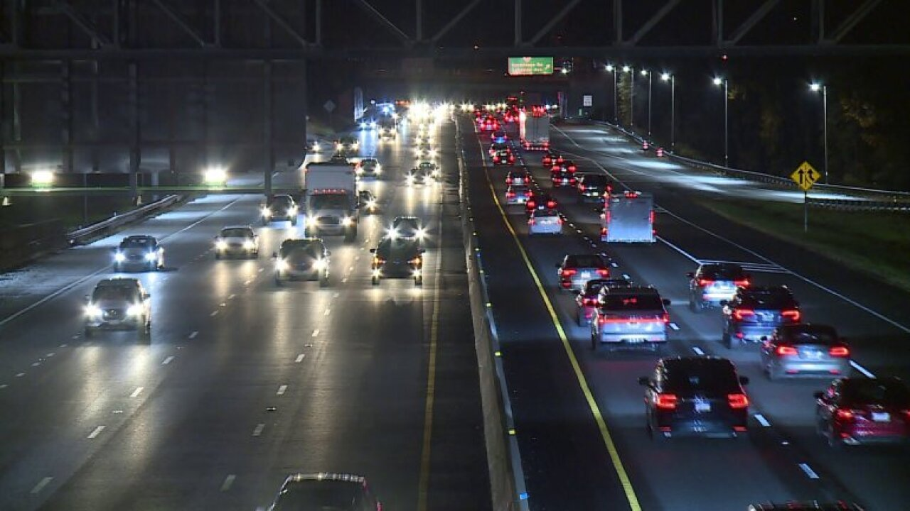 Traffic Richmond Interstate 95 Quad Lanes Cars Night Pretty Generic
