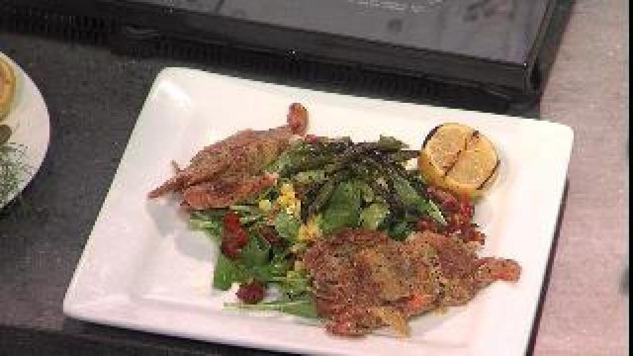 Chef TJ Borawski's Soft Shell Crabs