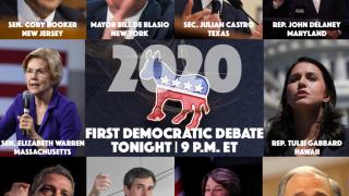 First 2020 Democratic debate viewer's guide