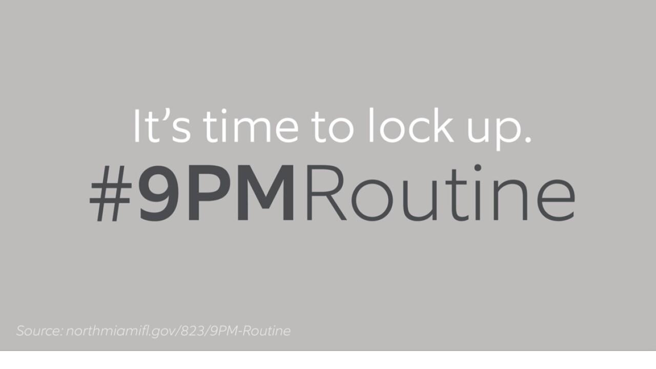 #9PM Routine