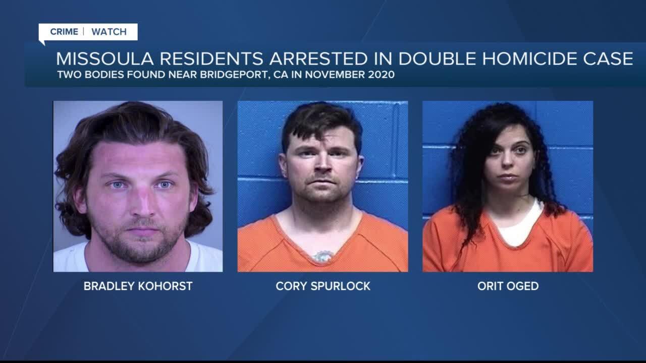 CA murder suspects Missoula