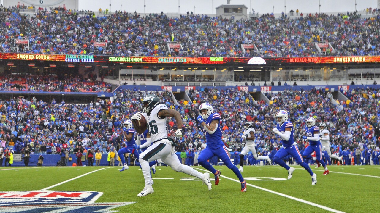 Bové: Eagles run early and often as Bills fall to 5-2