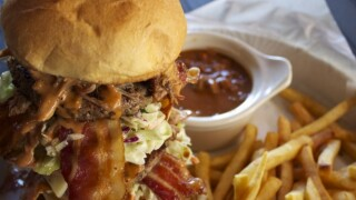 KNXV Porkopolis Brady Burger Challenge