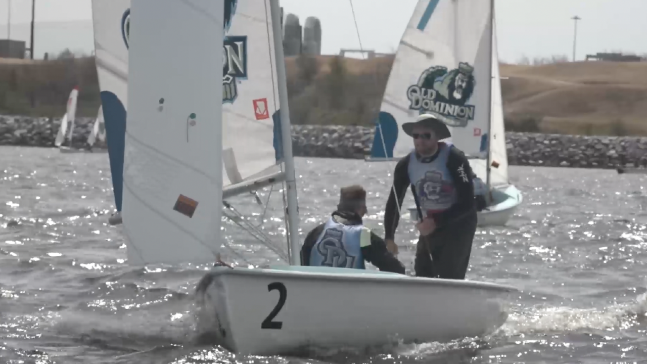 """Touch of Gray: ODU sailing team's """"current"""" inspiration"""