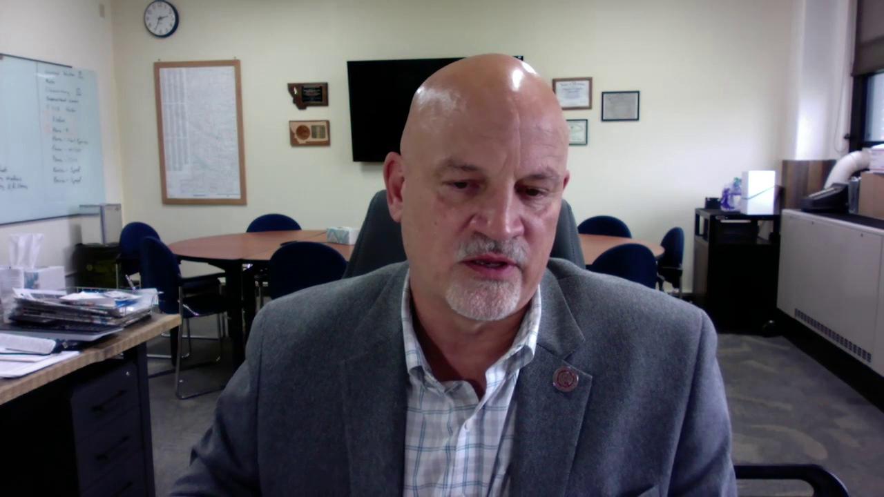 CJI Superintendent Tim Bronk
