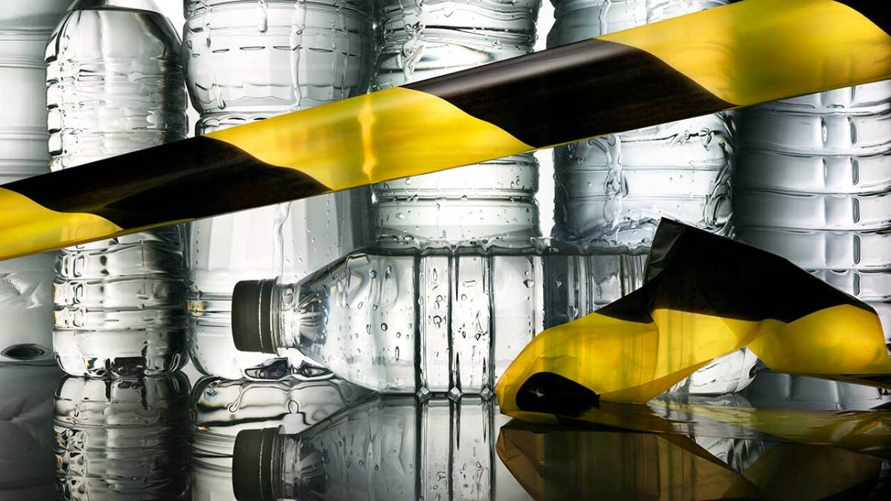 Your Bottled Water May Contain Unsafe Levels Of Arsenic Consumer Reports Says
