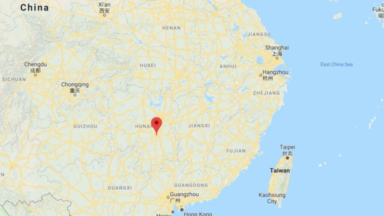 Car 'deliberately' crashes into crowd in China killing nine