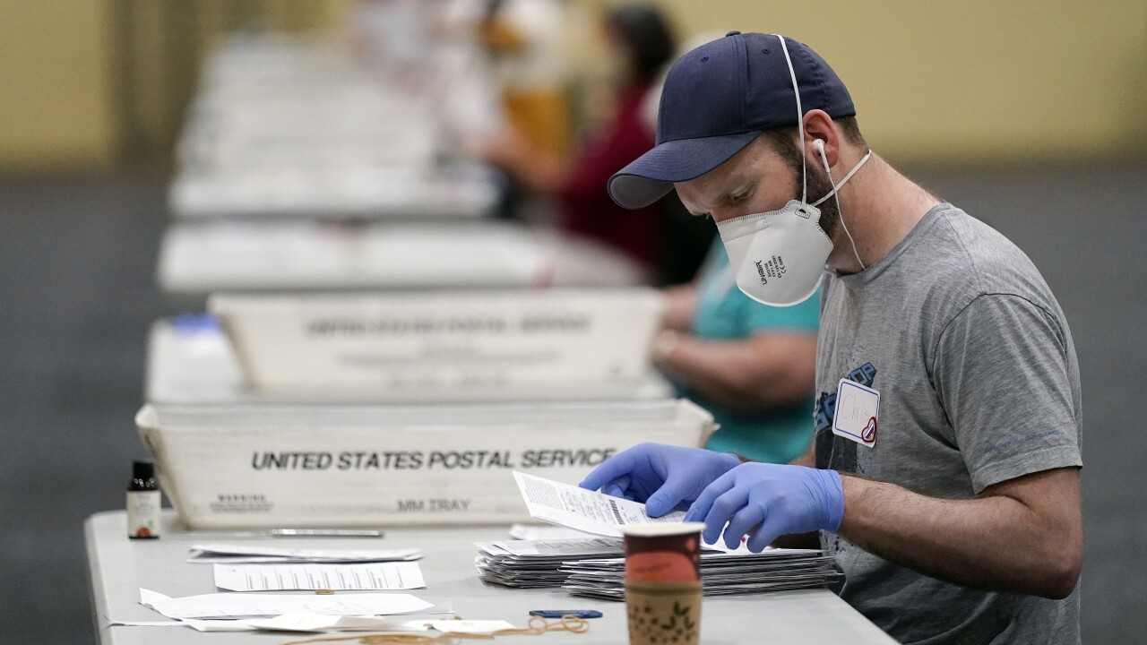Election 2020 Pennsylvania Vote Counting
