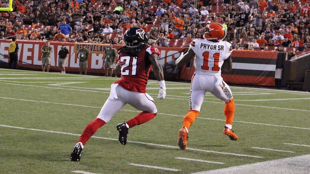 PHOTOS: Browns vs Atlanta preseason game