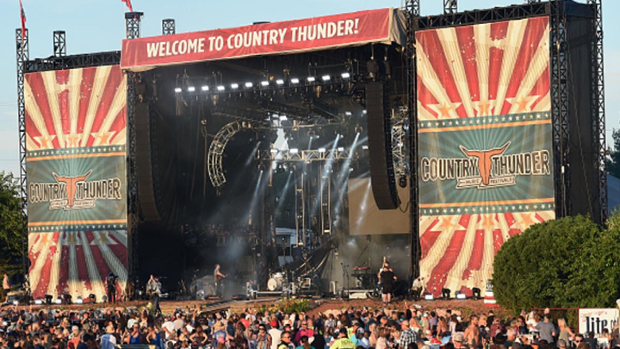 Country Thunder Arizona has been postponed