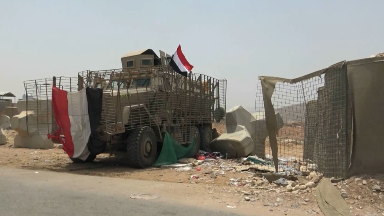 American armoured vehicles Yemen