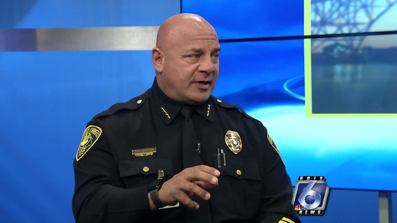 Chief Mike Markle says organized crime is responsible for the surge of aggravated robberies across Corpus Christi