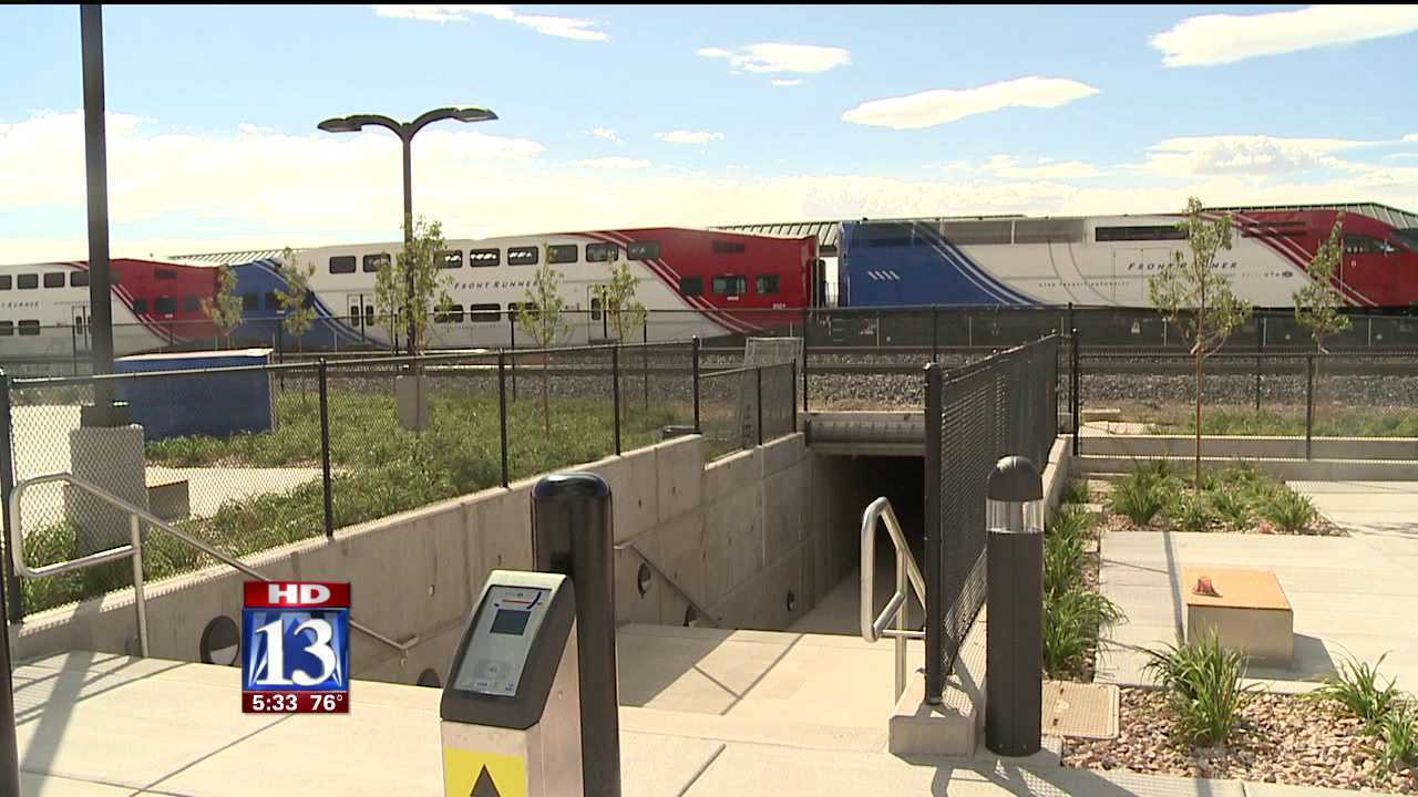 Utah County FrontRunner line opens in two months
