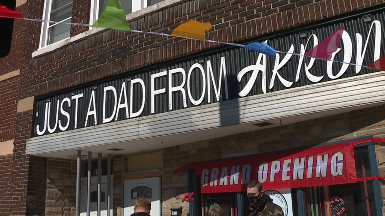 Just A Dad From Akron Grand Opening