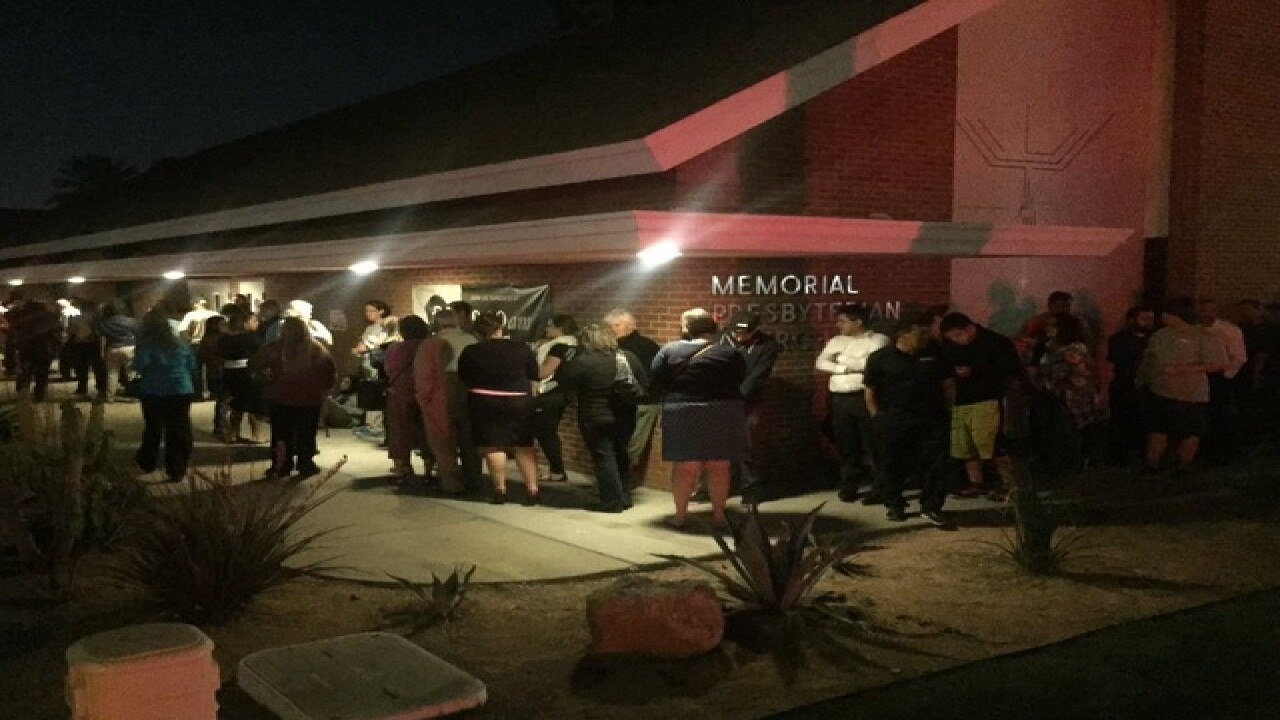 Arizona voters frustrated by long lines