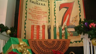 Kwanzaa is a week-long celebration signified through seven principles.