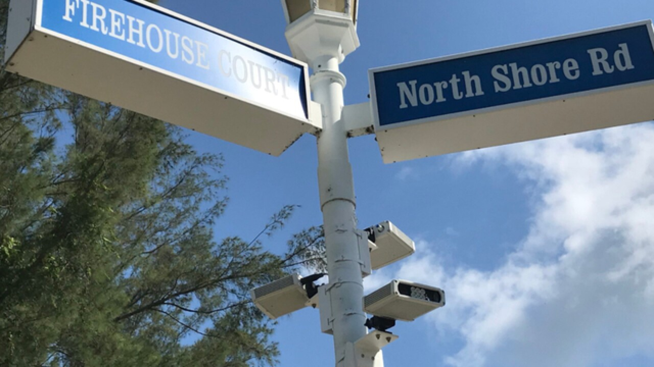 license plate cameras on longboat key