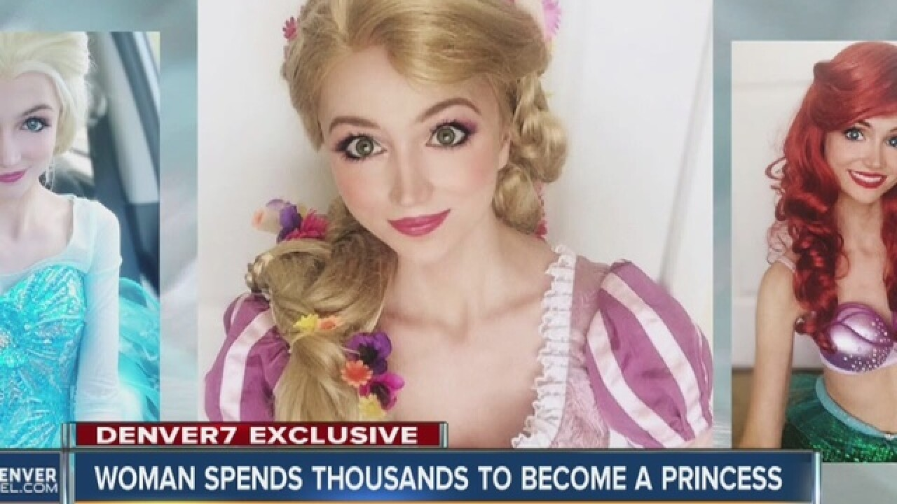 Denver woman brlngs Disney princesses to life
