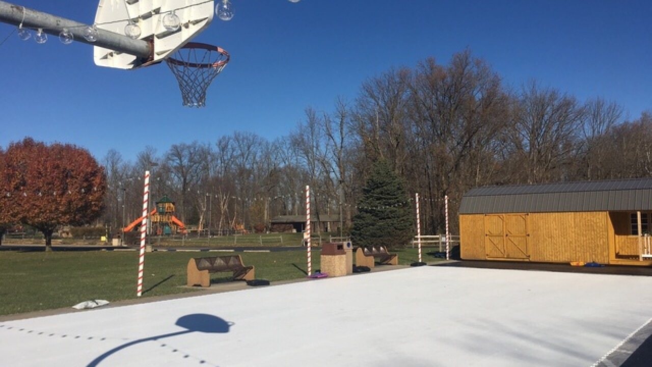 'Iceless' skating rink opens in Avon