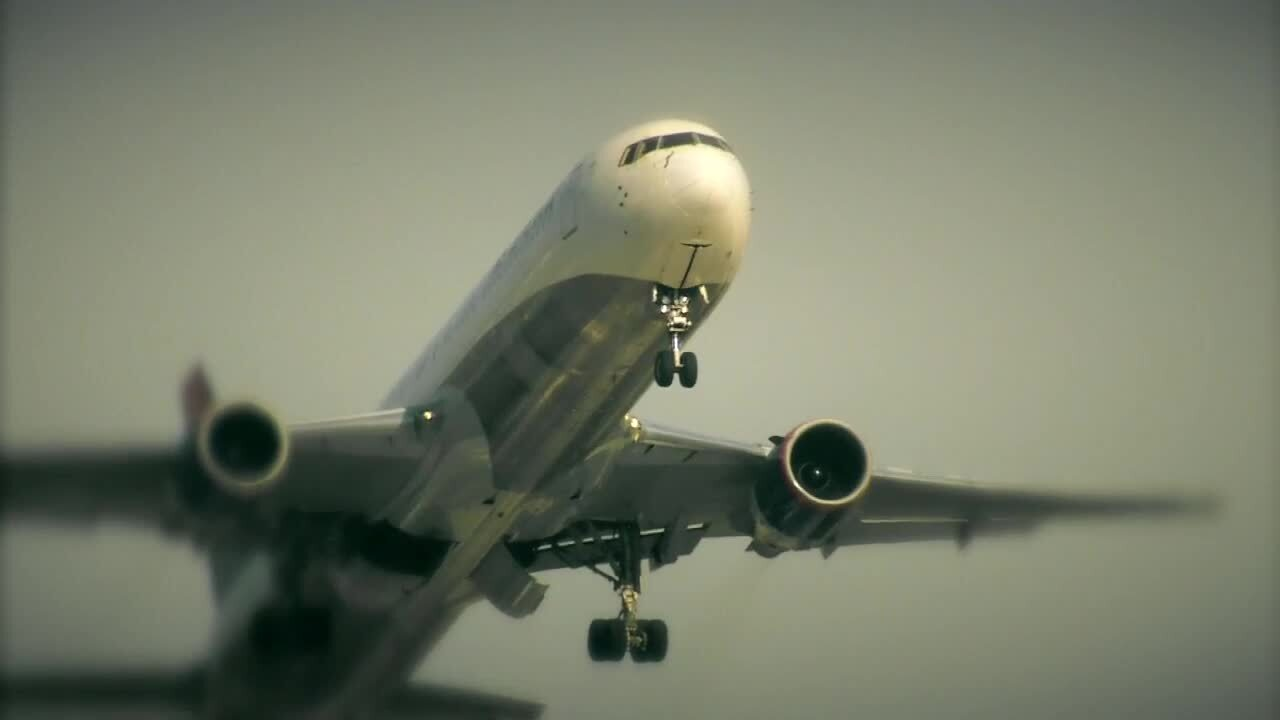 Generic plane taking off