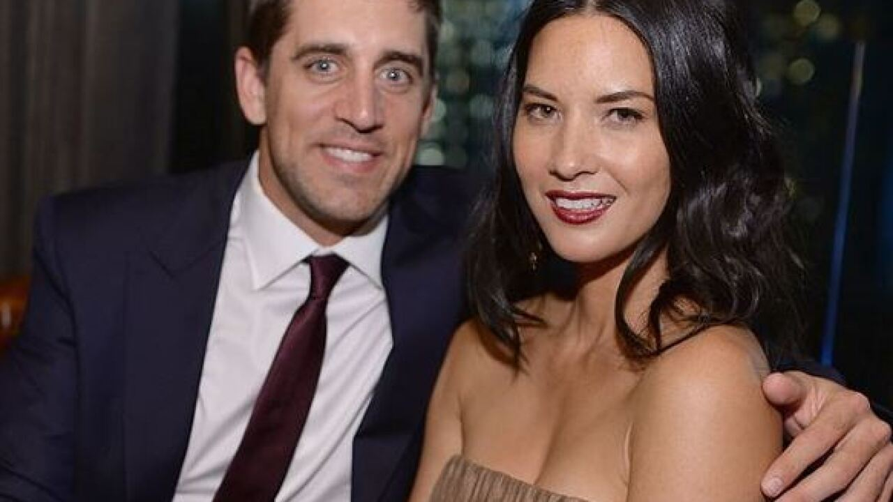 Olivia Munn says she's not to blame for Aaron Rodgers' relationship with family