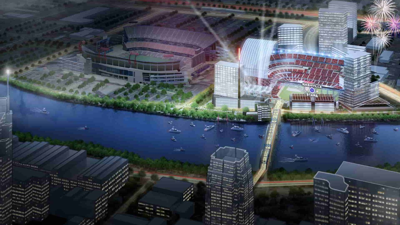 MLB in Nashville? Group releases renderings of potential baseball stadium