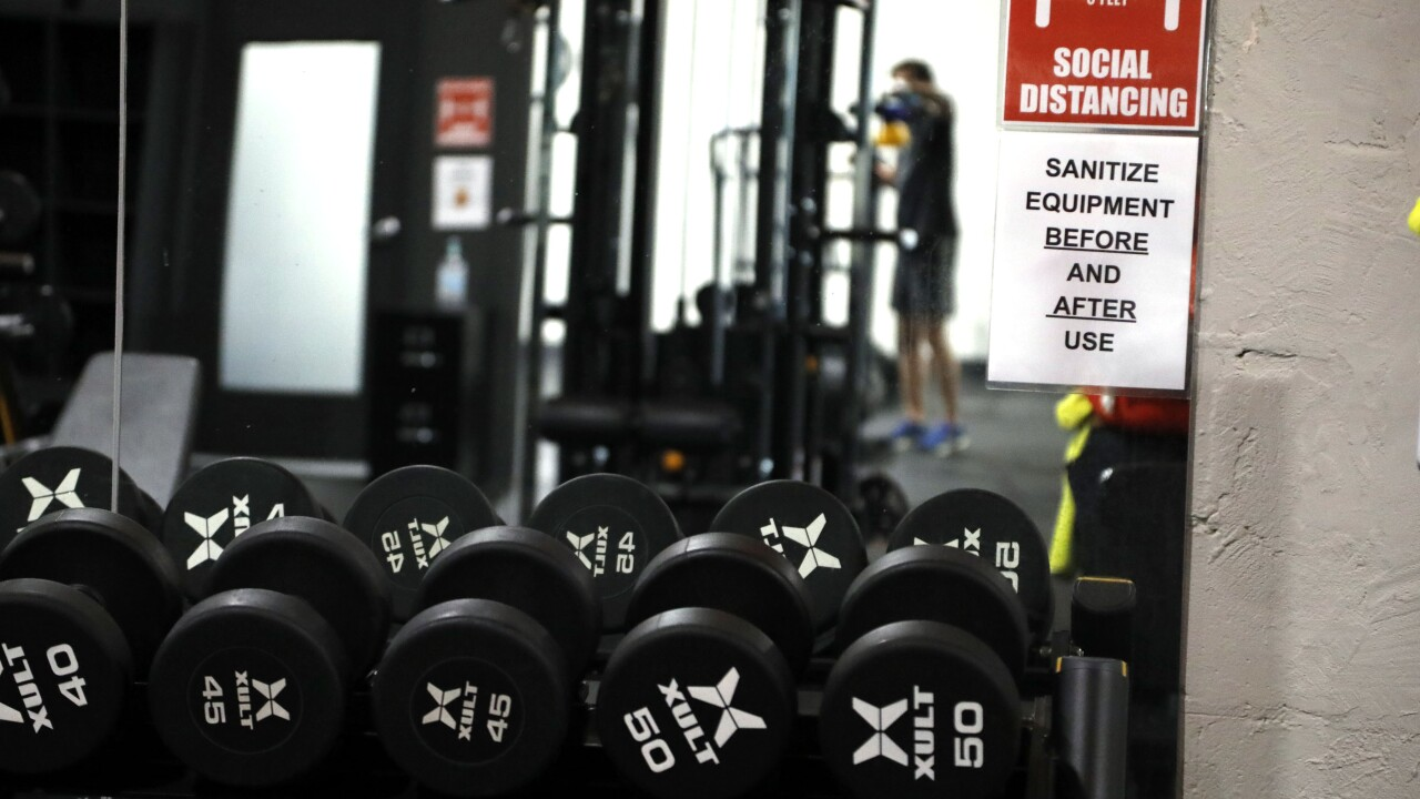 Appeals court rules Michigan gyms must remain closed