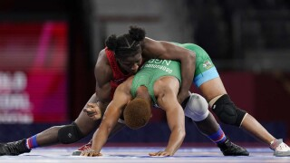 Olympic Wrestling Day 11: USA's Mensah takes gold