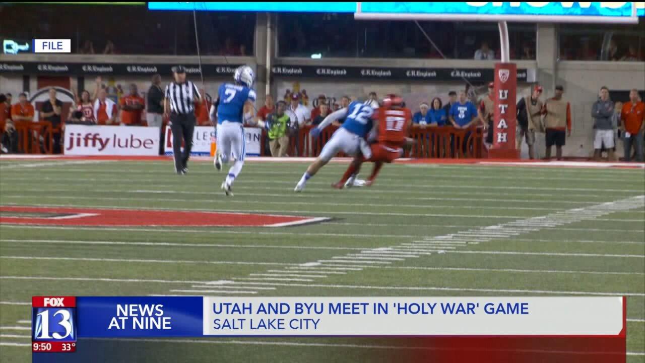 BYU, U of U face off in rivalry 'Holy War' game: U of U wins35-27