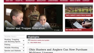 Hunters and anglers in Ohio can now get multiyear and lifetime licenses