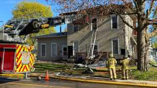 portland house fire