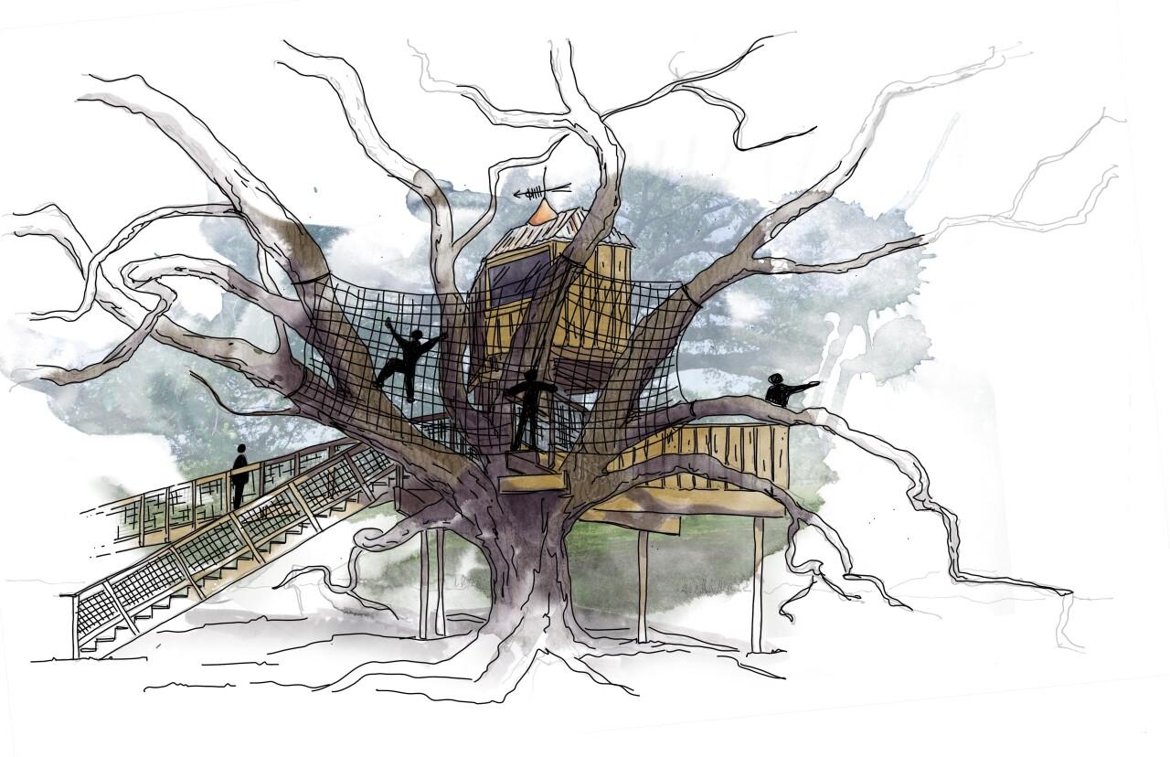 Treehouse Watercolor - Moncus Park.jpg