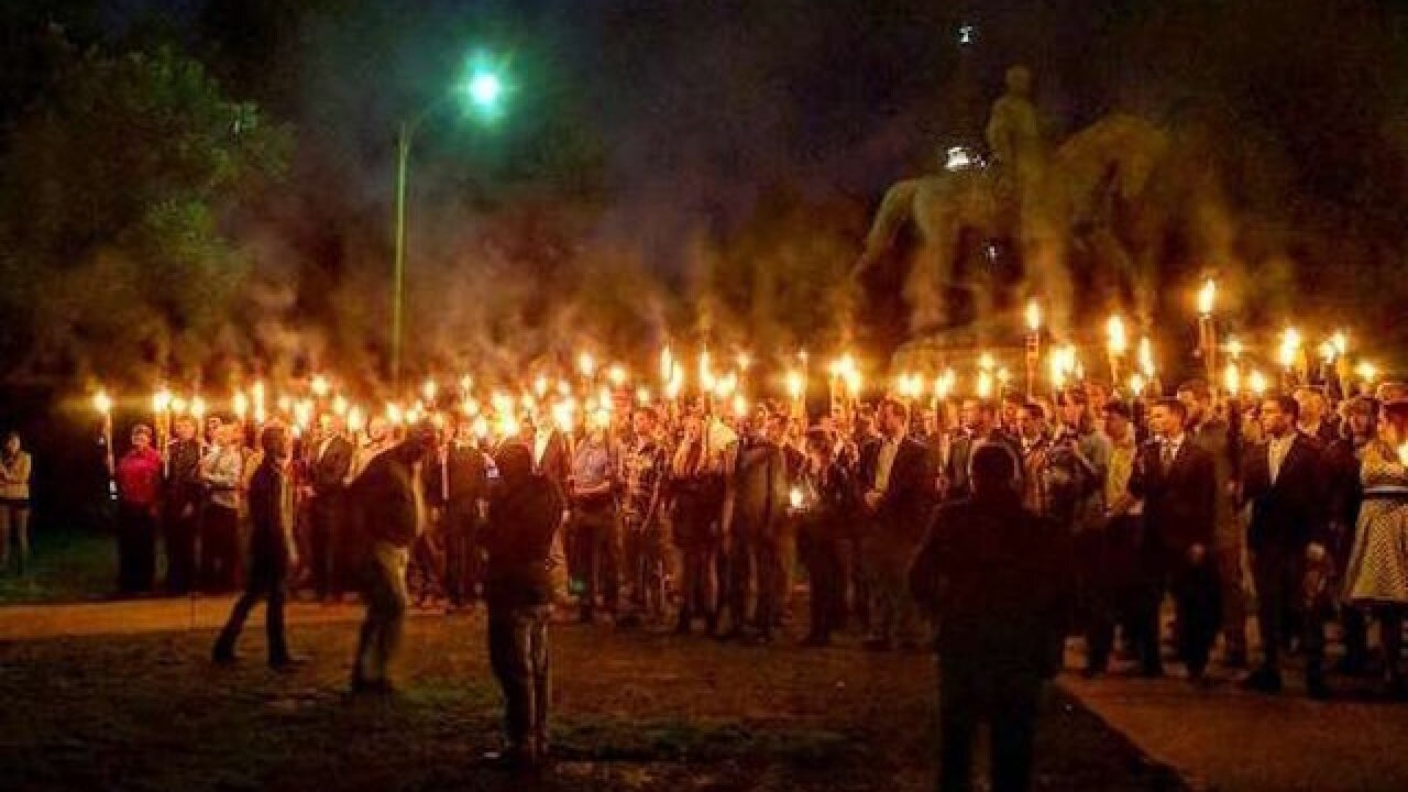 4 indicted on charges stemming from Charlottesville rallies