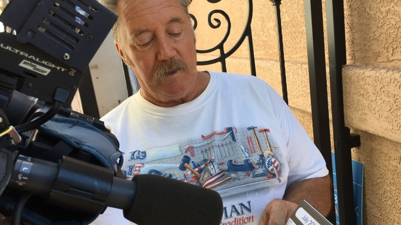 Vegas man says power problem plague neighborhood