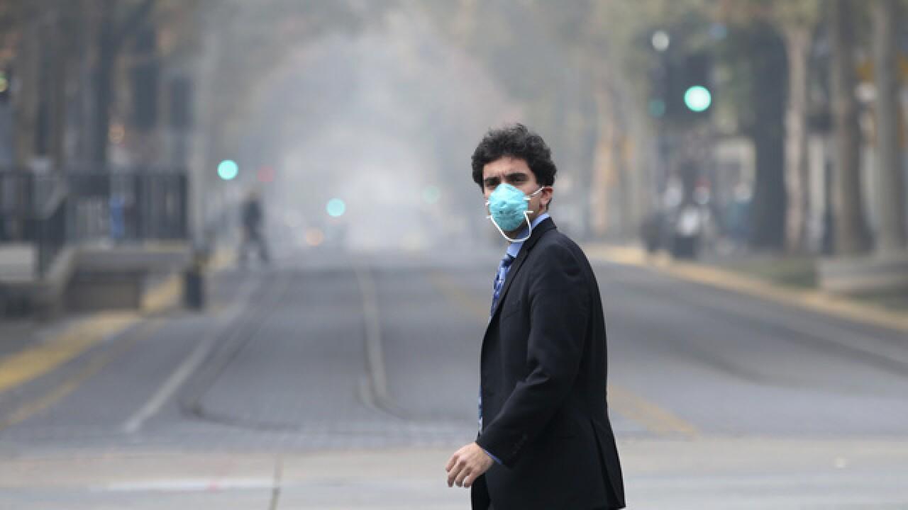 California fires' smoke sparks heath concerns