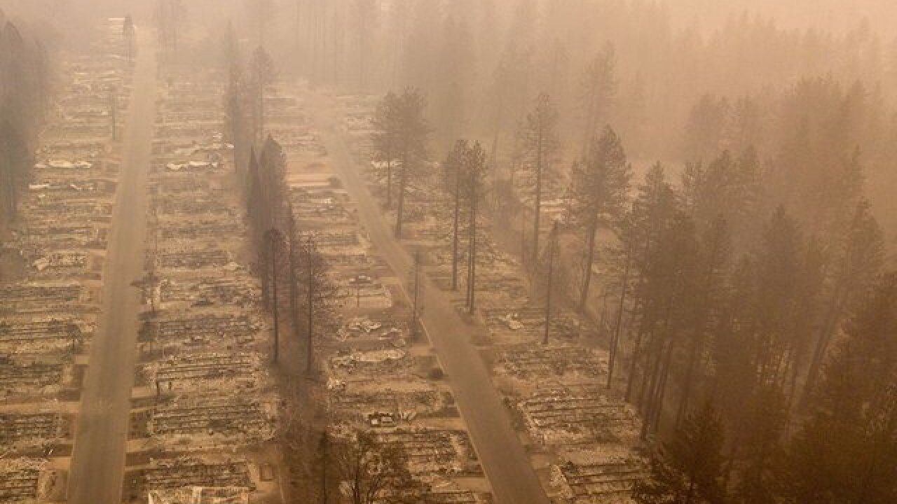 Due to the wildfires, California now has the most polluted cities in the world