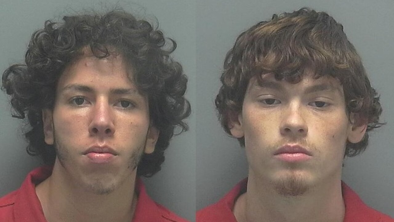 Pair arrested for burglarizing gun store in Cape Coral