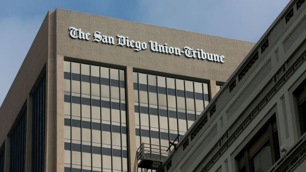 San Diego Union Tribune Building Evacuated After Receiving Suspicious Package