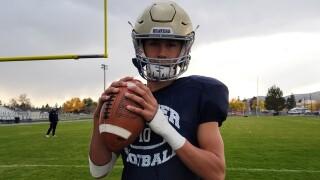 Dillon Quarterback Kee Christiansen