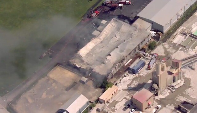 Photos: Crews Fight Large Chemical Fire On Cowan Court