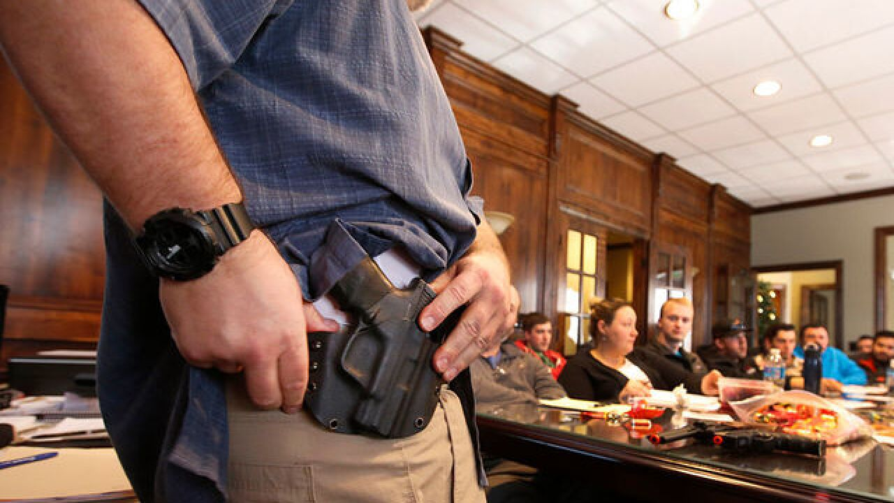 Colorado bill to extend concealed-carry rights to gun owners passes State Senate