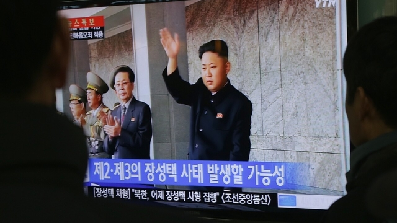 North Korea fires another missile into sea