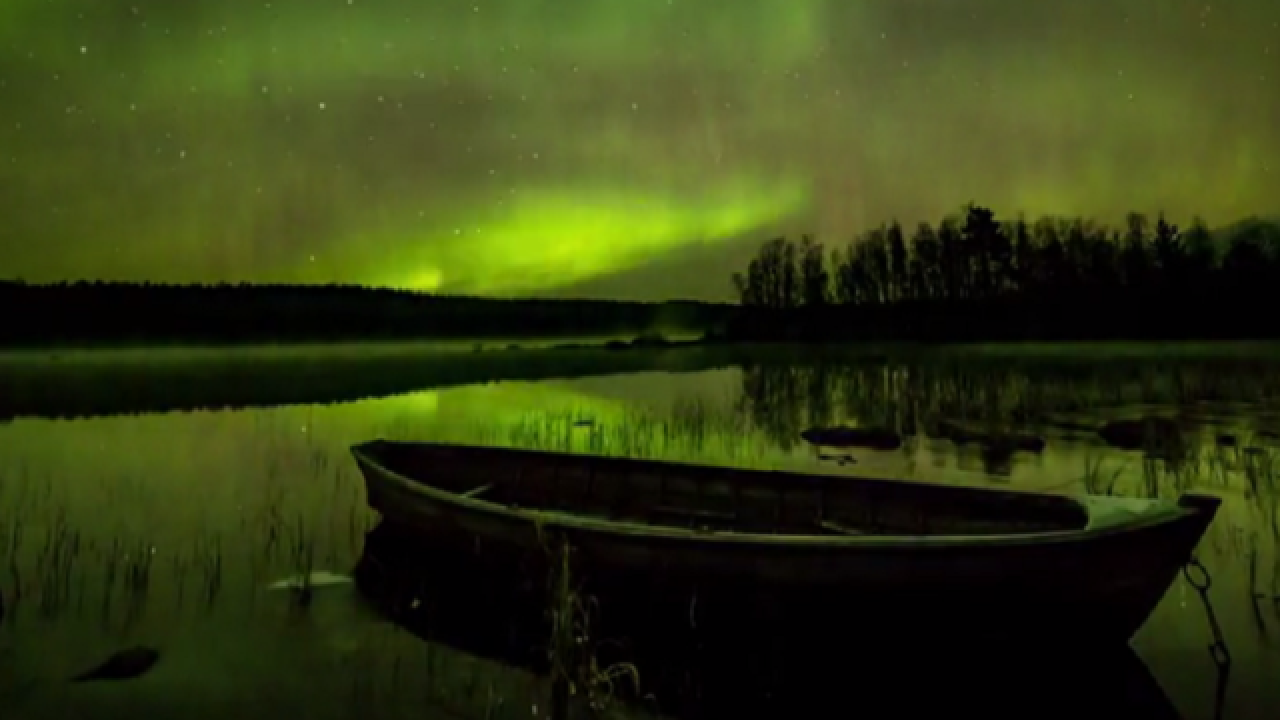 Time-lapse captures magnificence of Northern Lights