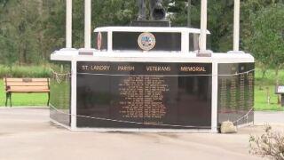 st. landry parish veterans memorial.JPG