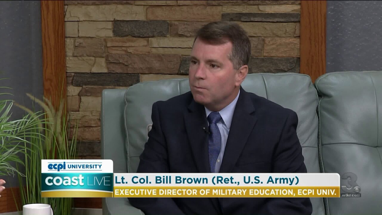 How ECPI is helping military personnel and veterans get an education on Coast Live
