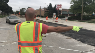 Chase Avenue construction is entering second phase